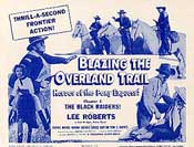 Blazing the Overland Trail - 1956