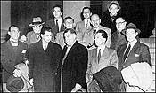Hollywood Ten with attorneys - 1948
