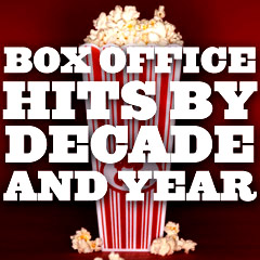 Box Office Hits - By Decade and Year
