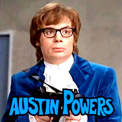 Austin Powers Hairy