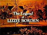 Amazoncom The Legend of Lizzie Borden Elizabeth