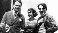 Fairbanks, Pickford, and Chaplin