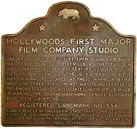 Hollywood's First Film Studio