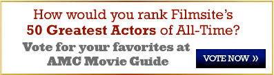 50 Greatest Actors - Vote