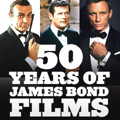 50 Years of Bond Films