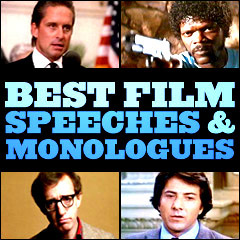 Best Film Speeches and Monologues