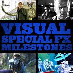 Visual and Special Effects Milestones in the Movies