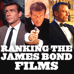 Bond Films - Ranked