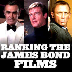 James Bond Films - Ranked
