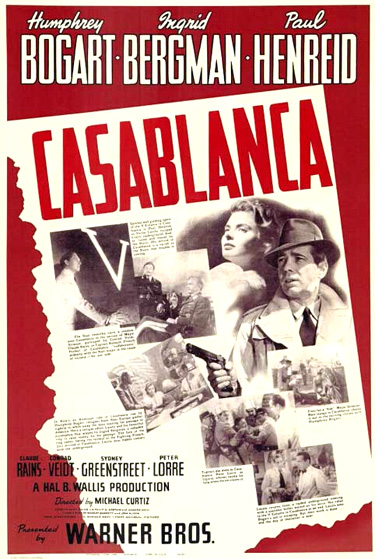 casablanca the greatest screenplay Casablanca has topped the list of 101 greatest screenplays, a first-ever ranking by members of the wga revealed thursday at a reception in beverly hills.