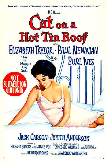 cat on a hot tin roof female monologue