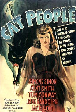 Cover Art Cat People