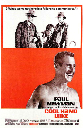 an analysis of cool hand luke a film by stuart rosenberg Cool hand luke (1967) -- (movie clip) take them the escaped luke (paul newman), chained and pursued by director stuart rosenberg s evocative opening.