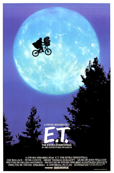 E T The Extra Terrestrial 1982