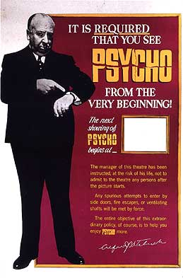 Writing an essay about the movie Psycho?
