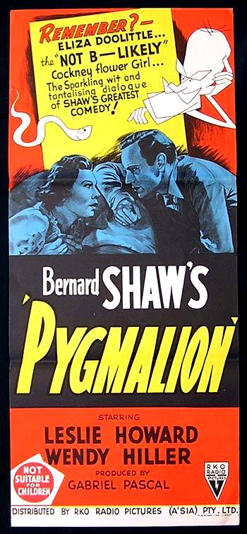 pyg on  pyg on 1938 is the british non musical film version of george bernard shaw s 1912 stage play a socio economic drama based on the cinderella story