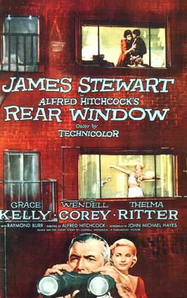 the effects of confinement in rear window a movie by alfred hitchcock The hitchcock haul: rear window (1954)  the experience is not so much like watching a movie, as  tagged: alfred hitchcock, art direction, cornell woolrich.