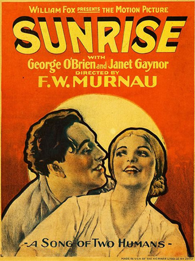 Image result for Oscar movies: wings and sunrise