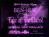 Ben-Hur: A Tale of Christ (1925/26)