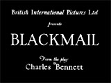 Blackmail (1929, UK)
