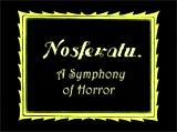 Nosferatu, A Symphony of Terror/Horror (1922, Germ.)