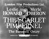 The Scarlet Pimpernel (1934, UK)